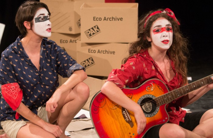 Sh!t Theatre's Louise Mothersole and Rebecca Biscuit