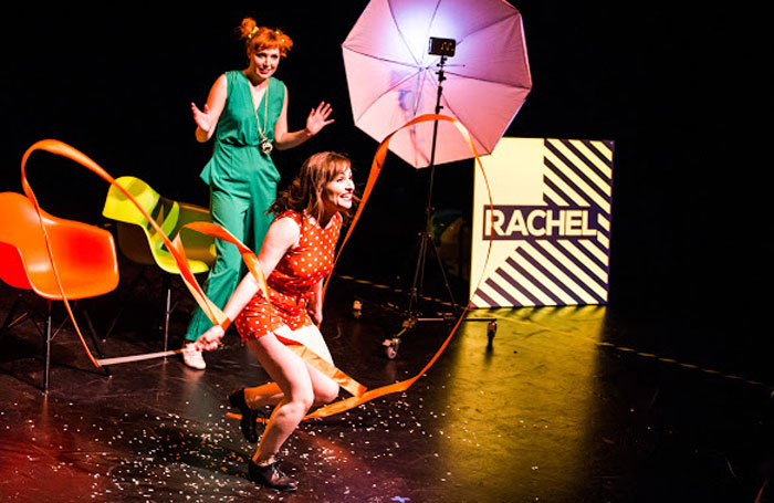 Sophie Thompson and Rachel Johnson in Losers at the Rosemary Branch Theatre, London. Photo: Debbie Y