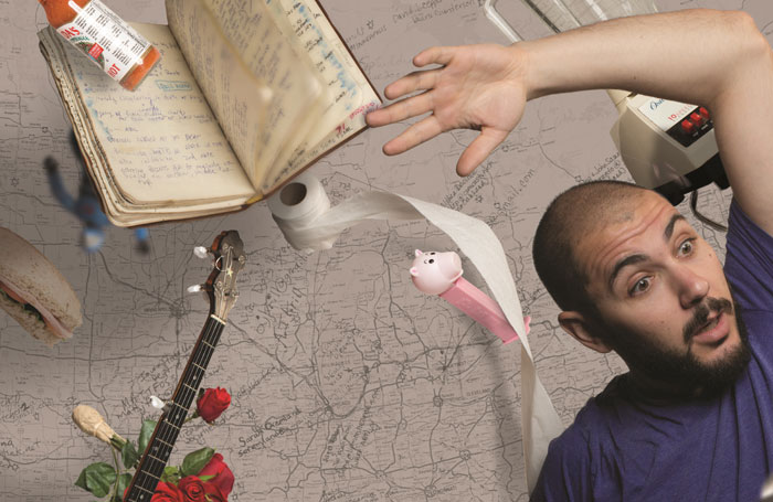My Name is Gideon: Songs, Space Travel and Everything In-Between, Upstairs at the Pleasance, Edinburgh
