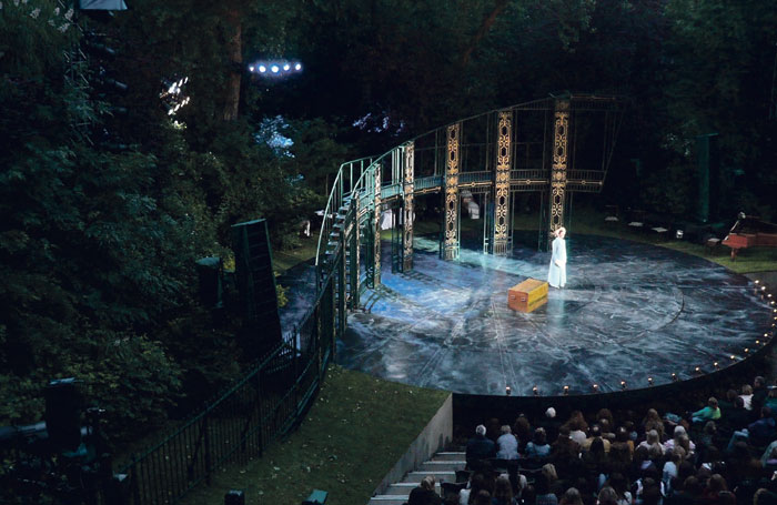 Pride and Prejudice at Regent's Park Open Air Theatre, designed by Max Jones