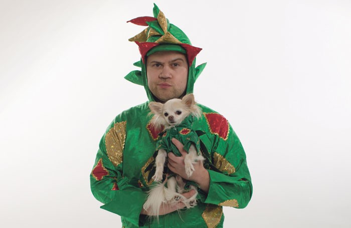 John van der Put as Piff the Magic Dragon, with Mr Piffles