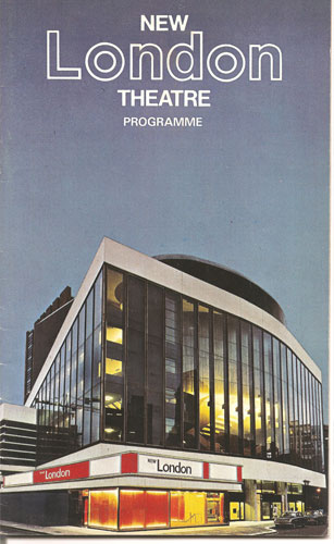 A programme cover from 1971