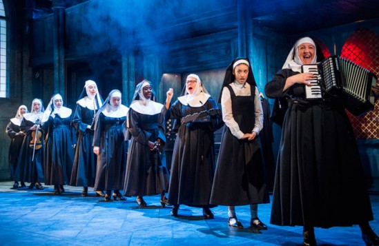 Scene from Sister Act, Curve, Leicester