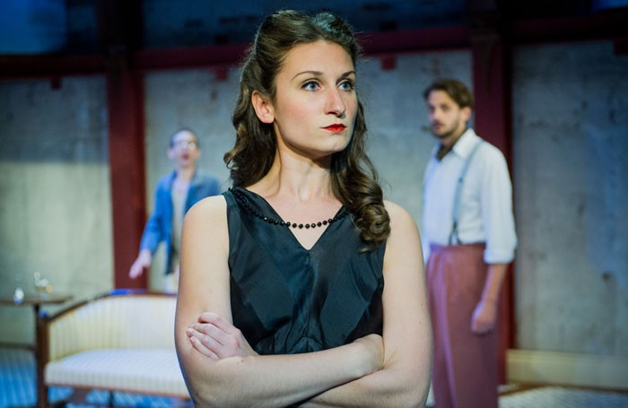 Bessie Carter in The Roundabout at Park Theatre, London. Photo: Robert Workman