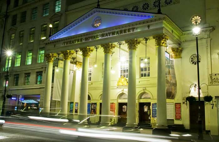 Theatre Royal Haymarket. Photo: Masterclass/TRH