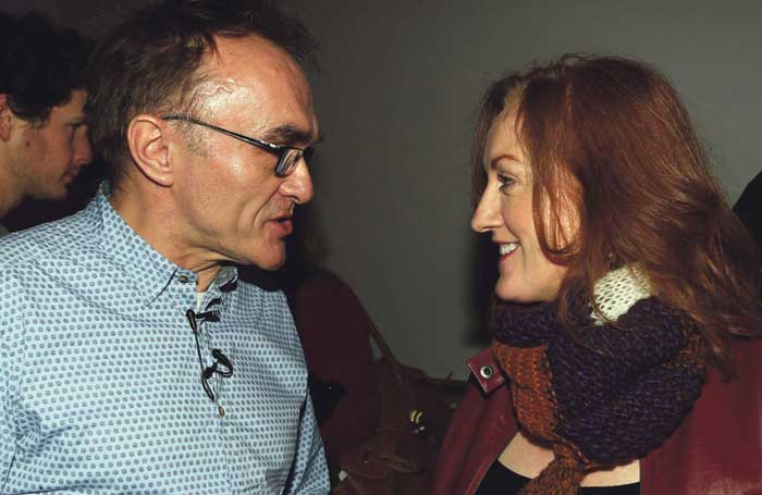 McCarthy with director Danny Boyle. Photo: Lorcan Doherty