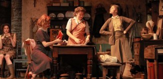 Students from Manchester School of Theatre in Dancing at Lughnasa