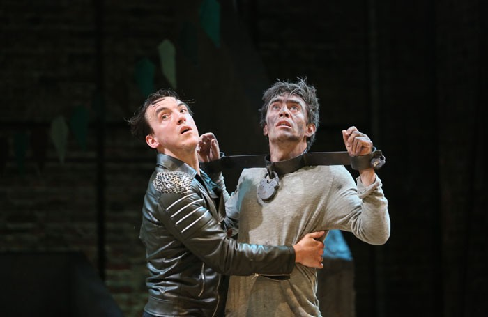 The Two Noble Kinsmen at the Swan Theatre, Royal Shakespeare Company. Photo: Donald Cooper