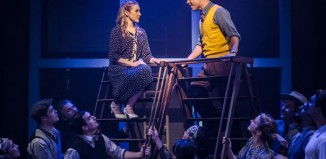 Emily Bull and Gary Tushaw in Allegro at the Southwark Playhouse, London. Photo: Scott Rylander