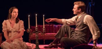 Kate O'Flynn and Seth Numrich in The Glass Menagerie at the King's Theatre, Edinburgh. Photo: Johan Persson