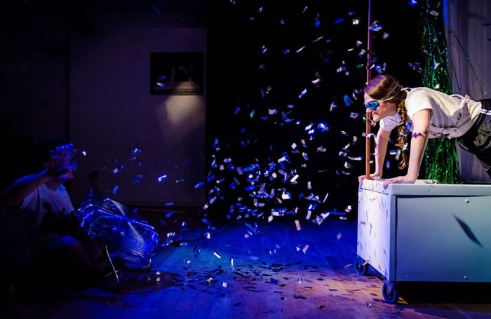 Holly Norrington in Pond Wife at Underbelly, Edinburgh. Photo: Will Patrick
