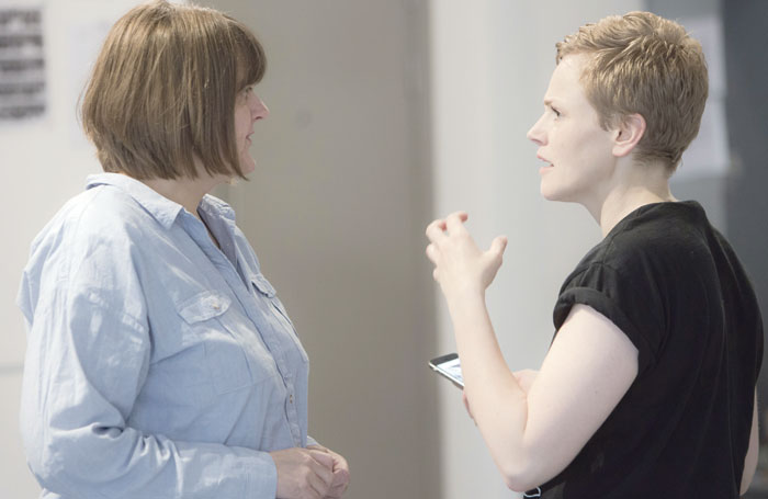 Frankcom directing Maxine Peake in The Skriker last year. Photo:  Jonathan Keenan