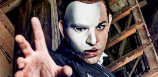 Ben Forster as The Phantom. Photo: Matt Crockett