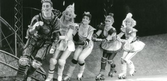 A scene from Starlight Express at the Apollo Victoria Theatre, London, for which Sue Hyman ran the PR. Photo: Tristram Kenton