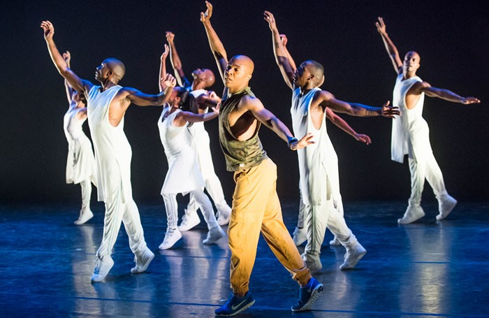 Alvin Ailey's Exodus at Sadler's Wells. Photo: Tristram Kenton