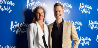 Darcey Bussell and Christopher Wheeldon at the launch of An American in Paris