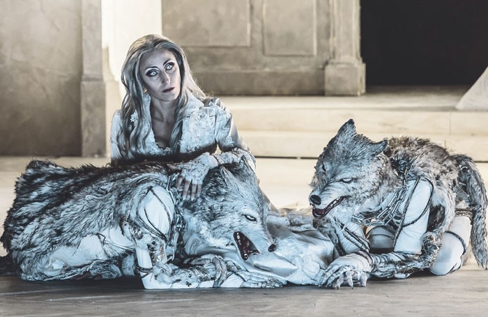 Annunziata Vestri in Guglielmo Ratcliff by Mascagni at the Wexford Festival Opera in 2015. Photo: Clive Barda