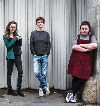 Two out of three of the Paines Plough cast for Broken Biscuits came via open auditions held in Newcastle. Photo: Matt Humphrey