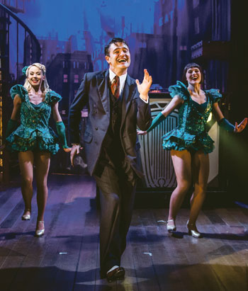 Tom Chambers in Crazy for You. Photo: Richard Davenport