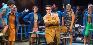 The cast of Made in Dagenham at the Queen's Theatre, Hornchurch