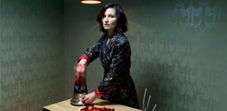 David Stewart's publicity photograph for Medea at the Almeida Theatre, London