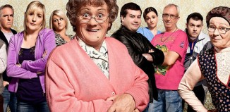 Mrs Brown's Boys cast. Photo: BBC