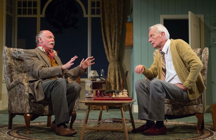 Robin Hooper and William Hoyland in A Month of Sundays at Queen's Theatre Hornchurch. Photo: Mark Sepple