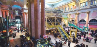 Manchester Royal Exchange interior