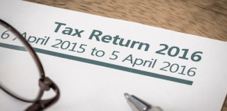 Tax return form. Photo: Paul Maguire/Shutterstock