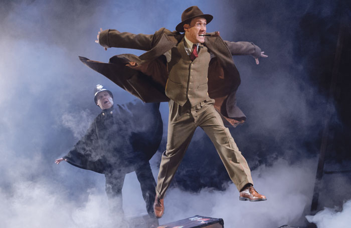 The 39 Steps. Photo: Dan Tsantilis