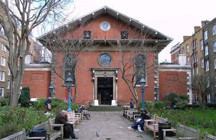 The Actors' Church, St Paul's Covent Garden