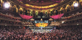 The Royal Albert Hall during the BBCProms. Photo: Chris Christodoulou/BBC