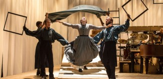 Scene from the Bristol Old Vic and National Theatre production of Jane Eyre, which will tour next year. Photo: Manuel Harlan