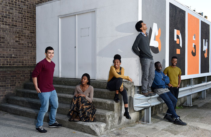 Boundless Theatre's advisory group of of 15 to 25-year-olds. Photo: Christian Sinibaldi