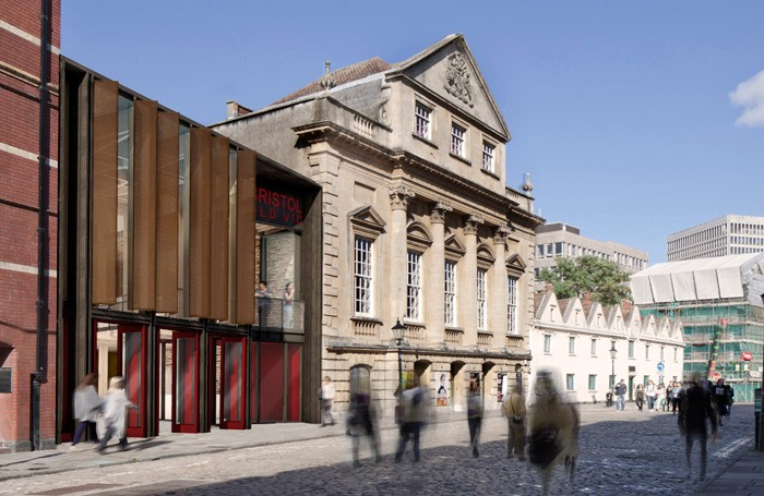 Artist's impression of Bristol Old Vic's redevelopment. Photo: Haworth Tompkins