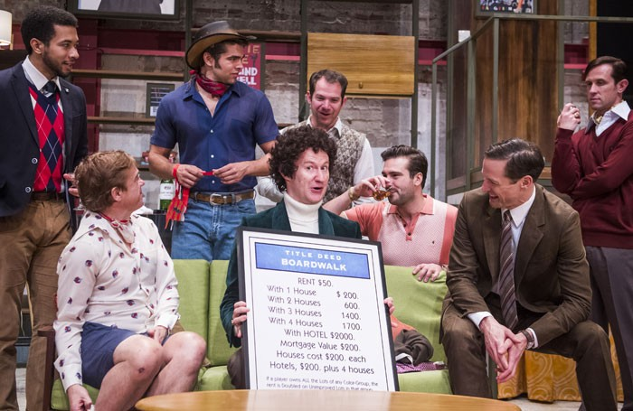 The Boys In The Band Starring Mark Gatiss U2013 Review At The Park Theatre,  London U2013 U0027speaks Profoundlyu0027