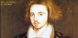 Christopher Marlowe. Photo: Wikimedia Commons