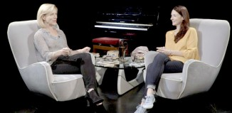 Juliet Stevenson being interviewed by Fiona Lindsay for Theatre Lives