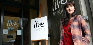 Lindsay Rodden, writer-in-residence at Live Theatre and Northumbria University