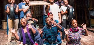 Isango Ensemble's A Man of Good Hope at the Young Vic. Photo: Tristram Kenton