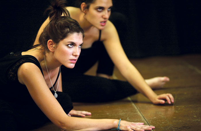 Students rehearsing at Mountview. Photo: Mountview