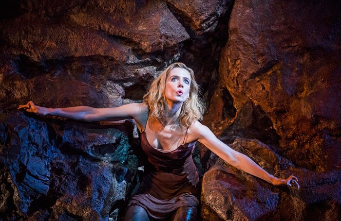Lisa Dwan in No's Knife at the Old Vic. Photo: Tristram Kenton