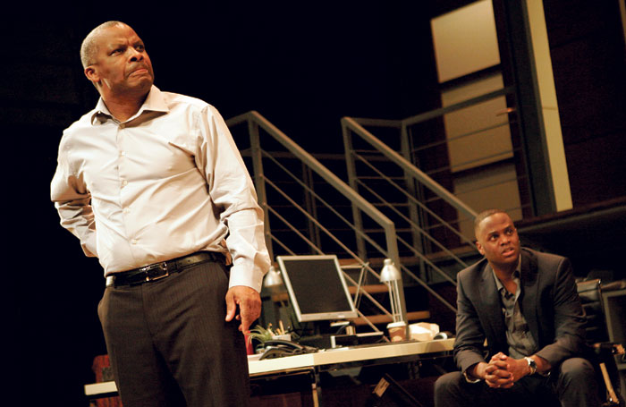 Don Warrington and Javone Prince in Statement of Regret at the National in 2007. Photo: Keith Pattison