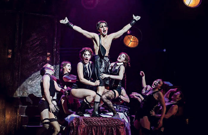 Royal Conservatoire of Scotland production of Cabaret. Photo: Royal Conservatoire of Scotland
