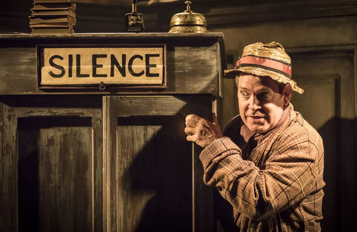 Tom Hollander in Travesties at the Menier Chocolate Factory. Photo: Johan Persson