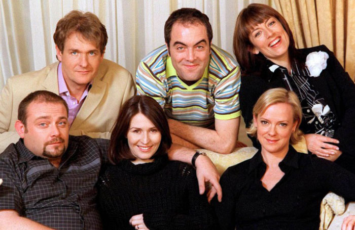The cast of Cold Feet. Photo: ITV