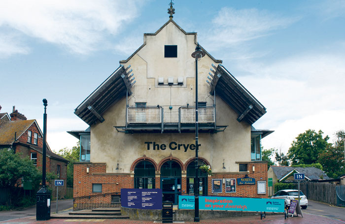 The Cryer. Photo: Sutton Theatres