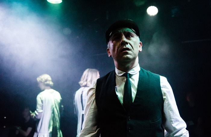 Joseph Alessi in Adding Machine: A Musical at the Finborough Theatre, London. Photo: Alex Brenner