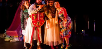 A scene from Hampstead Garden Opera's production of The Magic Flute at Jacksons Lane Theatre, London. Photo: Laurent Compagnon