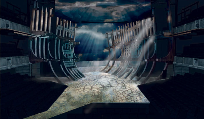 Stephen Brimson Lewis' set design